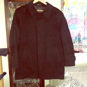 Saks Fifth Avenue cashmere pea coat.